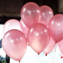 Ballons gonglables rose x20