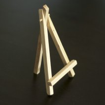 Mini chevalet de table en bois à poser