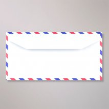 Enveloppe DL by Air mail
