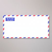 Enveloppe Par Avion - by Air mail 220 mm x 110 mm